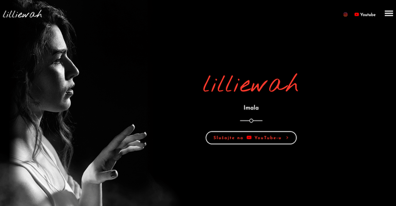 Lilliewah (Tamara Milanovic) Official Website