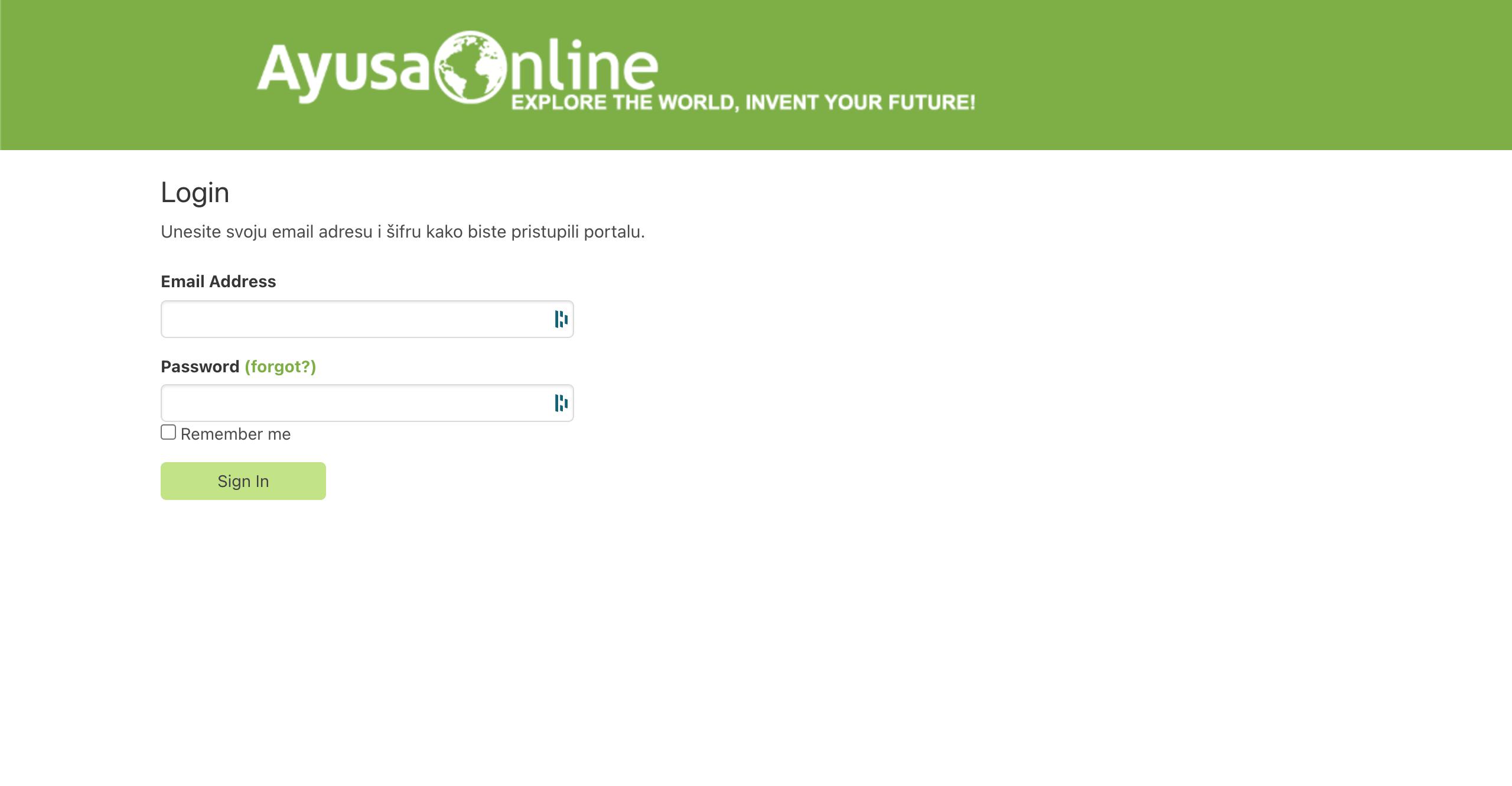 Ayusa Online